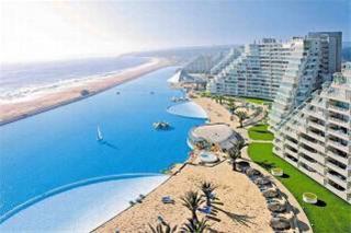 بزرگترین استخر دنیا، به وسعت یک دریا در شیلی