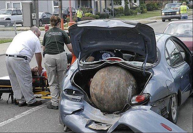 تصادف هایی خنده دار ولی عجیب و وحشتناک