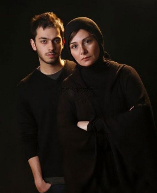 عکس لو رفته شهاب حسینی با لیلا فروهر