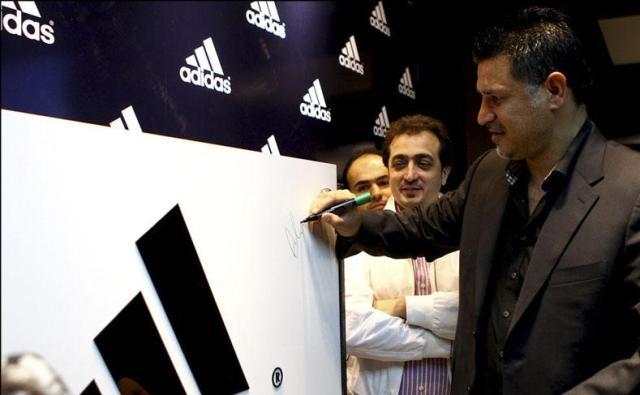 عکس های از افتتاحیه فروشگاه ورزشی علی دایی