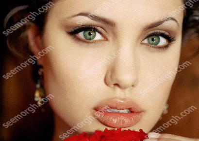 زیباترین چشم جهان حتی زیباتر از آنجلینا جولی