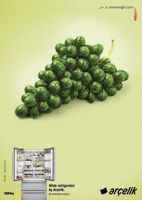 تصاویری دیدنی از برترین آگهیهای تبلیغاتی