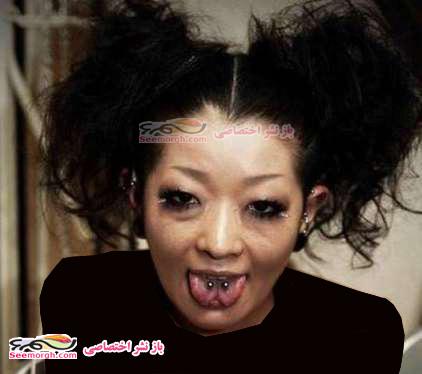 عکس هایی ترسناک از زنان و مردان شیطان پرست / www.irannaz.com