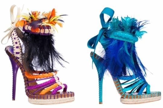 جدیدترین مدل های کفش زنانه شیک 2011