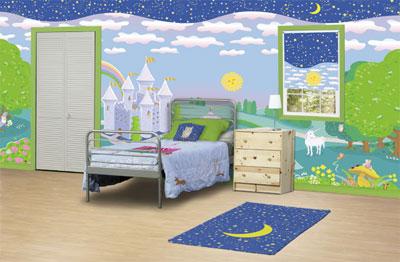 تصاویری رؤیایی و زیبا از نقاشی دیوارها