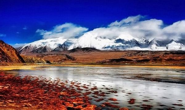 زیباترین بهار جهان در فلات پامیر به روایت تصویر