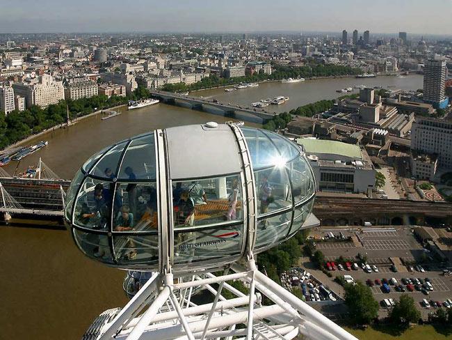 عکس های بلندترین چرخ و فلک با ارتفاع 135 متر