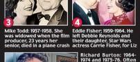 عکسی بسیار دیدنی از هر 8 شوهر الیزابت تیلور