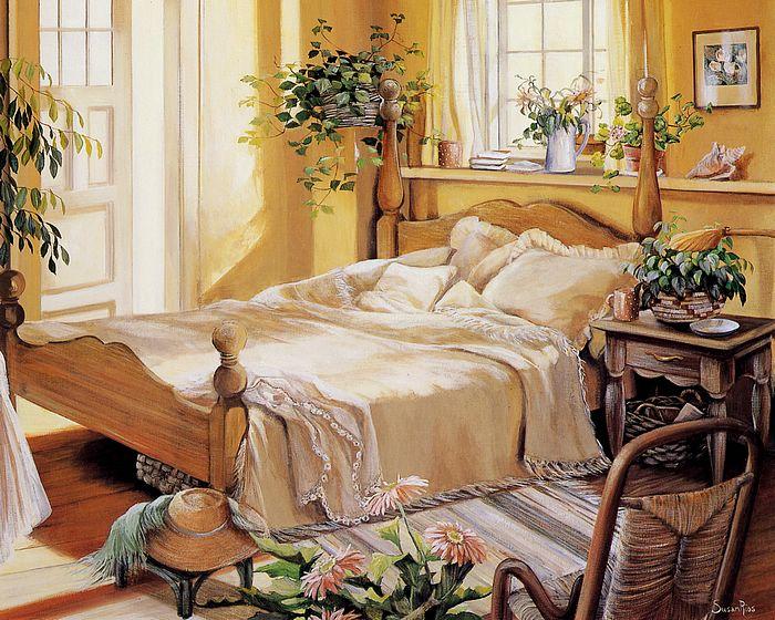 نقاشی های  بسیار زیبا و بی نظیر از Susan Rios