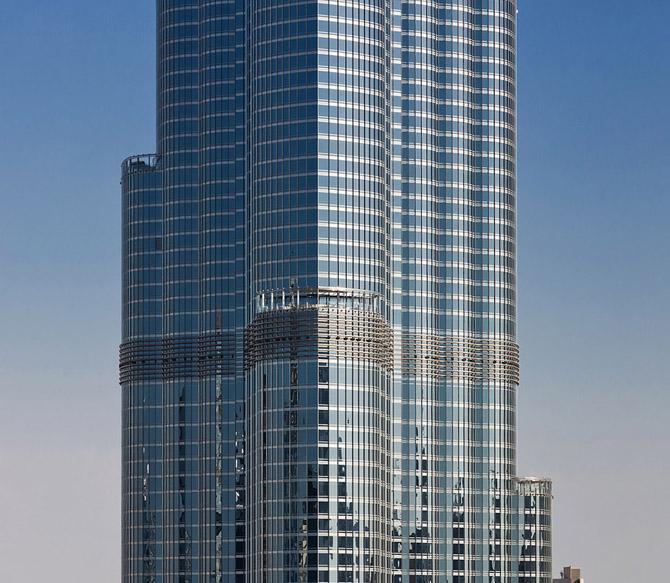تصاویری دیدنی از ساختمان شگفت آور دبی