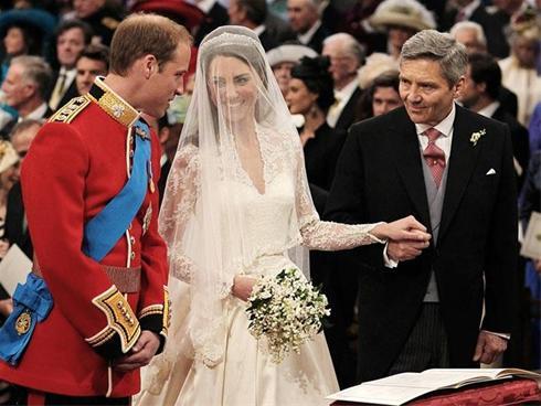 گزارش تصویری از مراسم عروسی نوه ملکه انگلیس