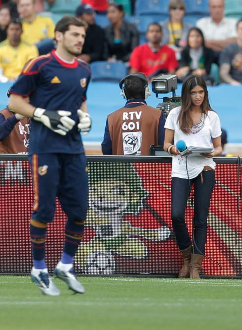 جذاب ترین دختر گزارشگر مسابقات ورزشی+عکس