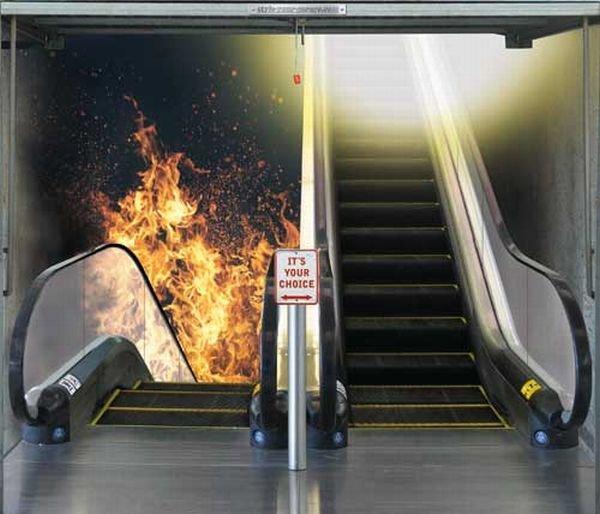 عکس : بهشت یا جهنم؟ انتخاب کنید!