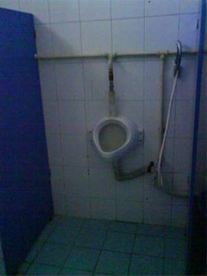 ساخته شدن توالتهای اوپن در ایران+تصاویر