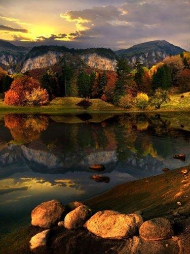 عکس هایی رؤیایی از بازتاب طبیعت در آب