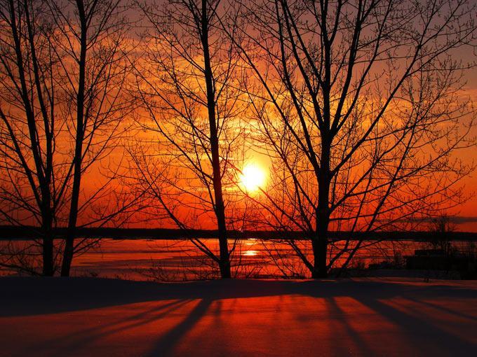 عکس هایی رؤیایی از طلوع و غروب خورشید