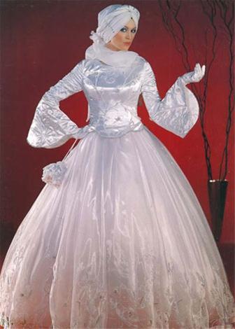 جدیدترین و زیباترین مدل های لباس عروس اسلامی