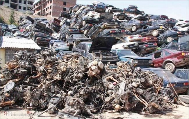 عکس هایی دیدنی و جالب از قبرستان ماشین ها