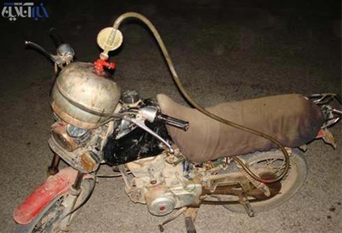 پیشرفته ترین موتور سیکلت دنیا در ایران (خنده دار)