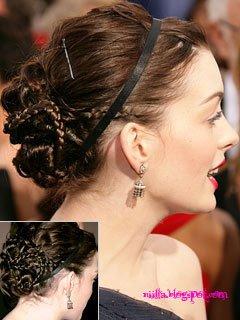جدیدترین مدل های شینیون مو در سال 2011 /  www.irannaz.com