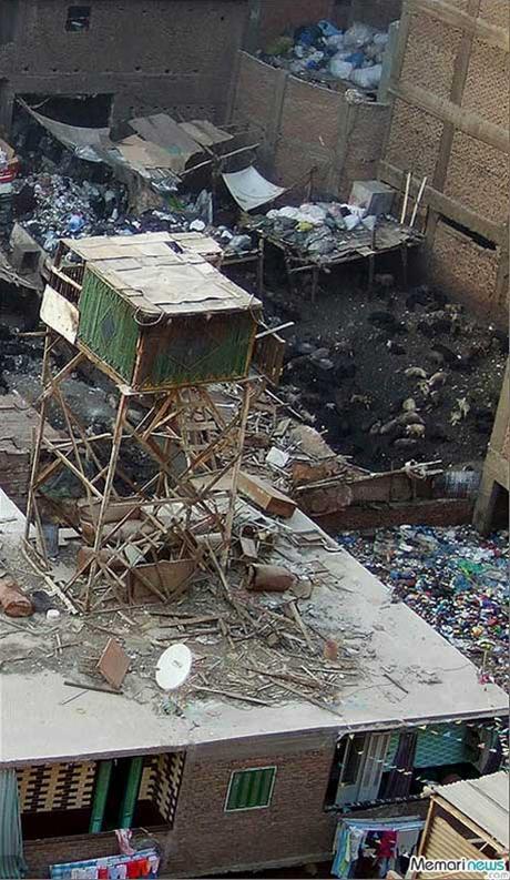 عکس هایی حیرت انگیز و دیدنی از شهر زباله ها !!