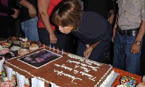 عکس هایی دیدنی و کمیاب از جشن تولد جنیفر لوپز