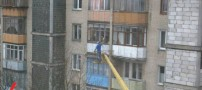 عکسهای دیدنی تبریک تولد مرد روسی به همسرش