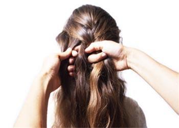 آموزش تصویری بافتن موی سر ( مدل فرانسوی )