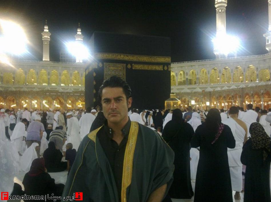 عکس های جدید از محمدرضا گلزار در کنار کعبه