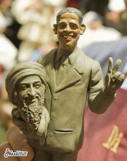 آگهی های بسیار جالب از مرگ بن لادن (تصویری)