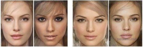 تصاویری دیدنی از خوش چهره ترین زنان جهان