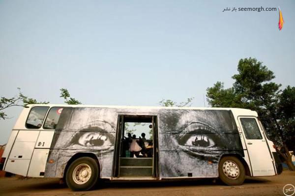 تصاویری از گالری هنری فوق العاده دیدنی و جالب