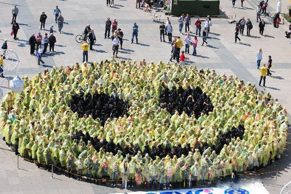 بزرگترین لبخند جهان در کرواسی + عکس
