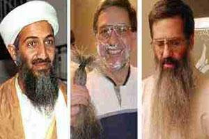 جشن جالب ریش تراشی به مناسبت مرگ بن لادن
