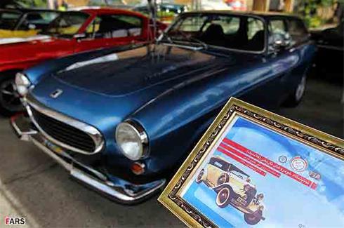 عکس هایی دیدنی از نمایشگاه ماشین های کلاسیک