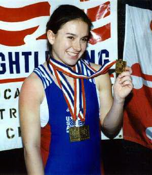 عکس هایی از  معروف ترین وزنه برداران زن جهان