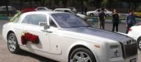 عکس هایی از گران قیمت ترین ماشین عروس ایران!!