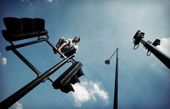 عکس هایی بسیار جالب و دیدنی از ورزش پارکور