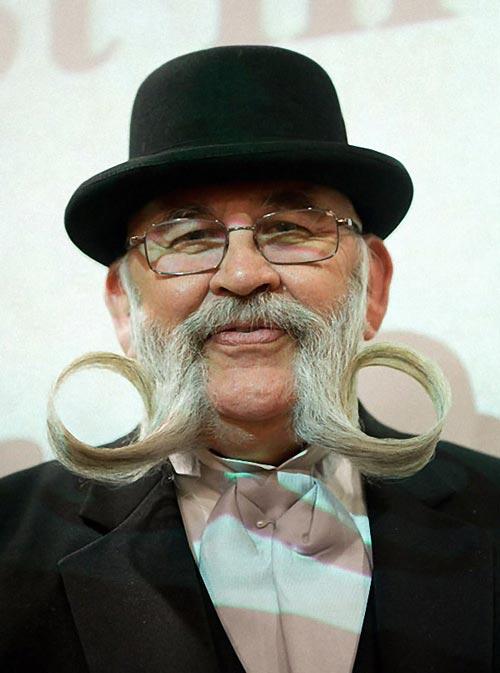 عکس هایی از خنده دار ترین ریش و سبیل های دنیا