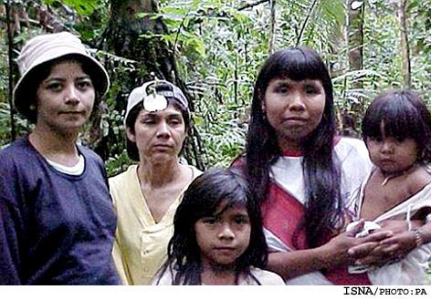 کشف قبیله ای بسیار عجیب در برزیل + عکس