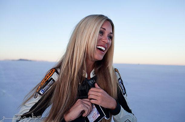 عکس هایی بسیار دیدنی از سریعترین زن جهان