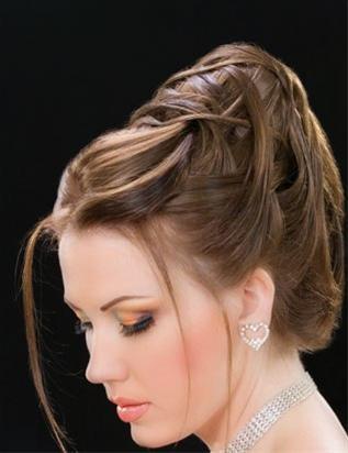 مدل های جدید شینیون های زیبای مو