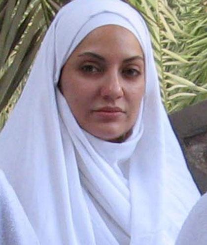 عکس هایی جدید از مهناز افشار در لباس احرام