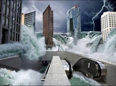 عکس هایی دیدنی و جالب از پایان دنیا در سال 2012