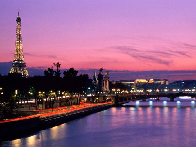 عکس هایی دیدنی از شهر زیبای پاریس و برج ایفل