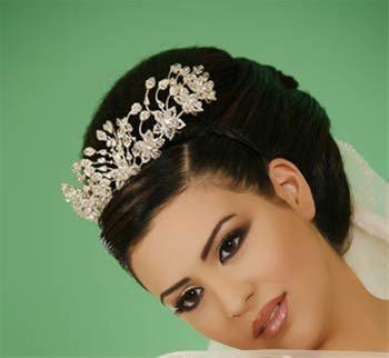 جدیدترین مدل های آرایش عروس 2011