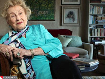 پشتکار باور نکردنی پیر زن 100 ساله امریکایی+عکس
