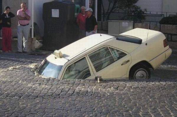 عکس هایی از تصادف های عجیب و بسیار خنده دار