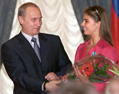 عکس هایی از دختری که پوتین عاشق شده