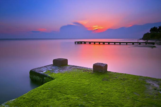 عکس هایی از زیبائی های طلوع و غروب خورشید
